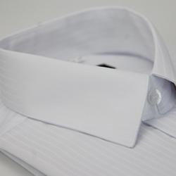 【金安德森】白底壓光易整燙窄版長袖襯衫
