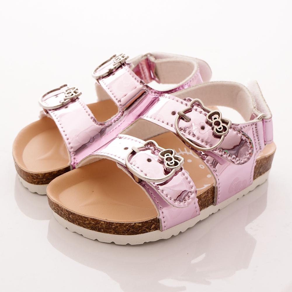 HelloKitty童鞋 閃耀涼鞋款 17963 粉 (中大童段)T1