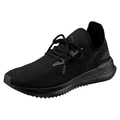 PUMA-AVIDevoKNIT男女慢跑鞋-黑色