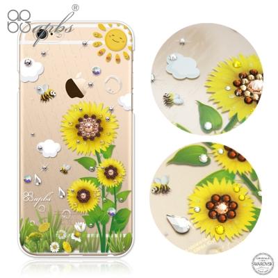apbs iPhone6s / 6 PLUS 5.5吋 施華洛世奇彩鑽手機殼-元...