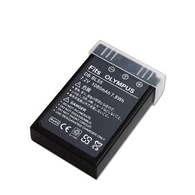 WELLY OLYMPUS BLS-5 / BLS5 / BLS-1 高容量防爆相機鋰電池