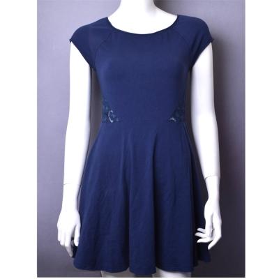 HOLLISTER Co. 後背蕾絲修身洋裝-藍