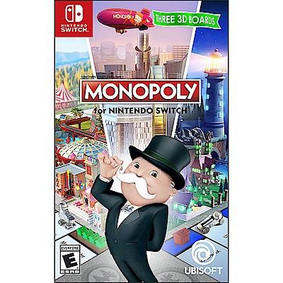 地產大亨 Monopoly -Nintendo Switch 英日文美版