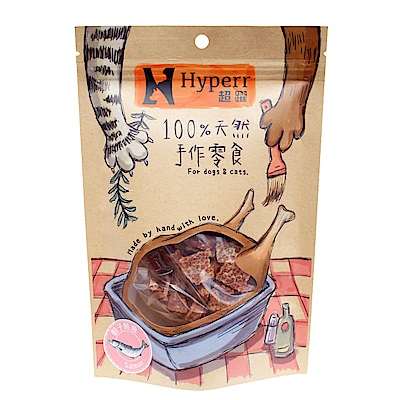 Hyperr超躍 手作骰子鮭魚 50g