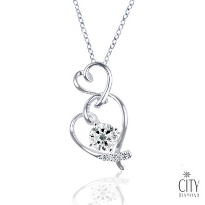 City Diamond 『愛戀秋季』 K金項鍊