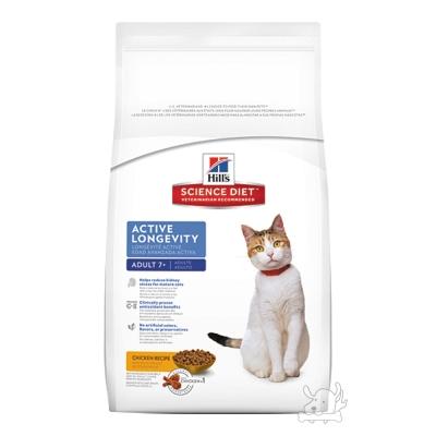 Hill's 希爾思 熟齡貓 7+ 活力長壽配方 乾糧 10公斤