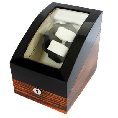 PARNIS BOX 收藏盒 自動上鍊盒2+3 鋼琴烤漆虎斑雙色款收藏納錶盒 (自動12)