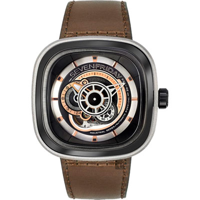 SEVENFRIDAY P2B 解構世界自動上鍊機械錶-47mm