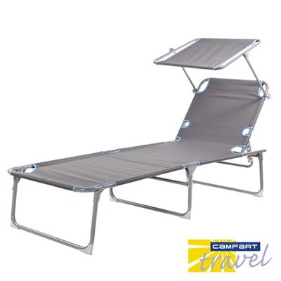 Campart Travel墾旅 休閒遮陽躺椅BE-0626