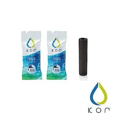 美國KOR water NAVA filter隨身濾水瓶濾芯(二入組)