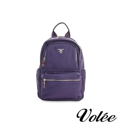 Volee飛行包 -  輕旅行平板後背包(小) - 法國紫