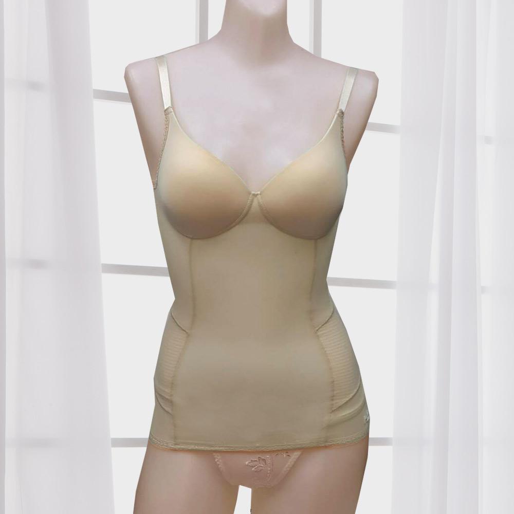 BVD Ladies  美腰塑型系列 半罩式塑身衣(膚色)