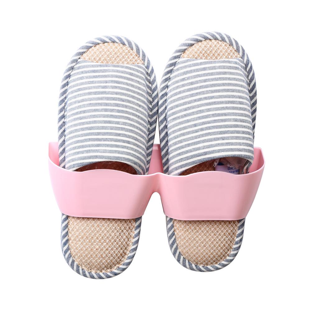 HIKARI日光生活  壁掛式鞋架(粉紅) / 25X7.5X7.5CM