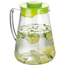 TESCOMA Teo單柄耐熱玻璃瓶(綠2.5L)