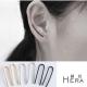 Hera 赫拉 U型線條無耳洞中性耳環/3色/1對入(3色) product thumbnail 1