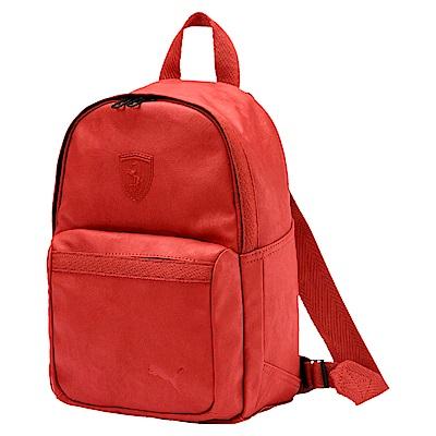 PUMA-女性Ferrari Lifestyle後背包-紅色