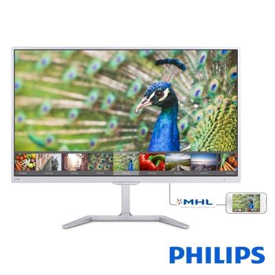 PHILIPS 276E7QDSW 27型 (16:9 白色) 寬電腦螢幕