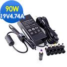 [DELL筆電適用]19V 4.74A 90W+6接頭變壓器(圓孔帶針)