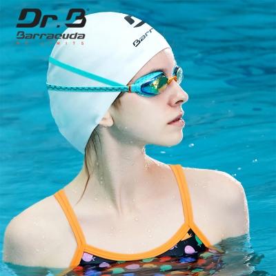 美國巴洛酷達Barracuda巴博士Dr.B F935 女性專用度數電鍍泳鏡