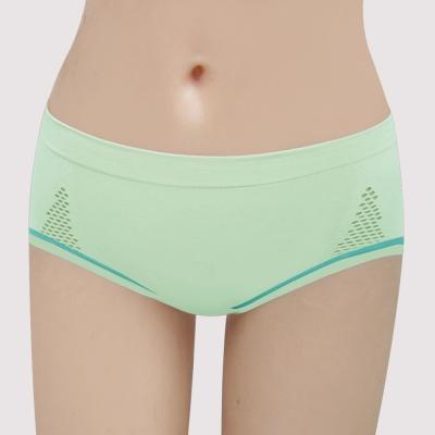 曼黛瑪璉 紓壓好動IceBar包覆   低腰寬邊三角內褲(清新綠)