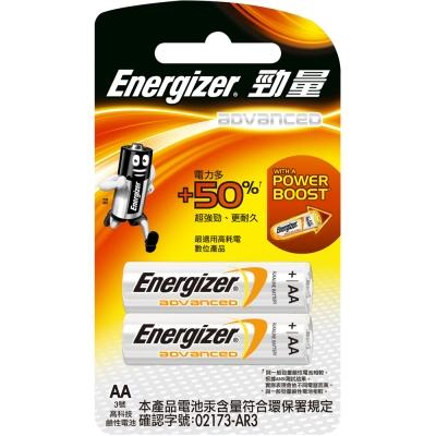 勁量  高科技鹼性電池 3 號(AA) 2 入