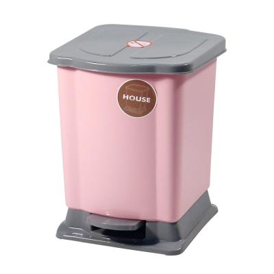 好媽媽踏式垃圾桶-小