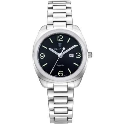 奧柏表 Olym Pianus 聚焦經典石英腕錶-黑/33mm   5706LS