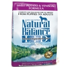 Natural Balance 低敏無穀地瓜鹿肉配方犬糧4.5磅