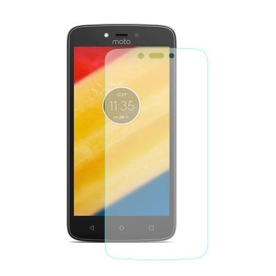 【SHOWHAN】Motorola Moto C 9H鋼化玻璃貼疏水疏油高清抗指紋