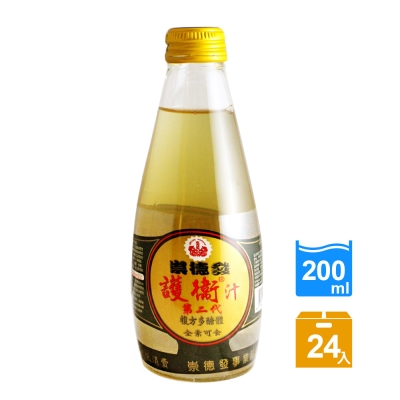 崇德發 二代多醣體護衛汁(200mlx24瓶)