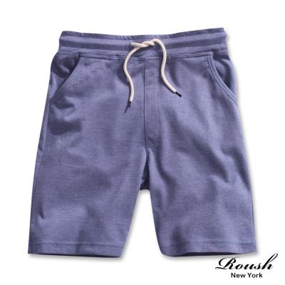 ROUSH-韓版抽繩網眼布料棉質短褲