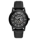 EMPORIO ARMANI  透視心靈機械腕錶-AR60008-43mm