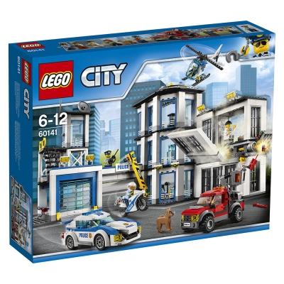 LEGO樂高 城市系列 60141 警察局 (6Y+)