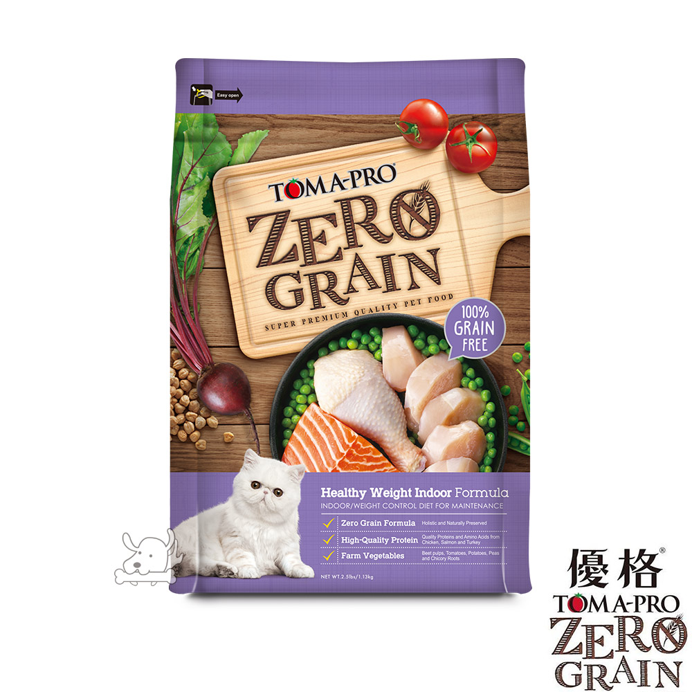 TOMA-PRO 優格 天然零穀食譜 成貓 體重管理配方 5.5磅