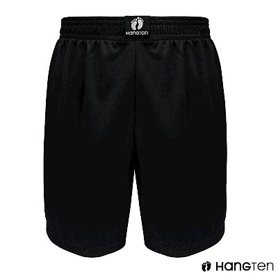 HANG TEN 極度排汗平口褲_黑(HT-C12004)