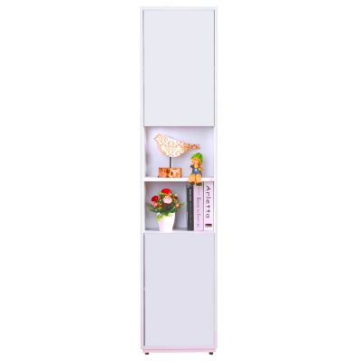 AT HOME-蒂芬妮1.35尺彩色中空書櫃(五色可選)