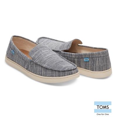 TOMS 細線條紋休閒鞋-男款