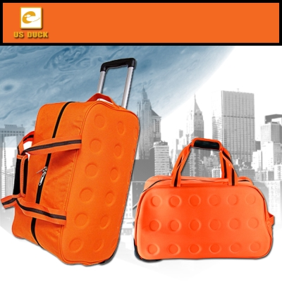US DUCK尼龍拉桿旅行袋(可提/可拖/可拉) UN-2007