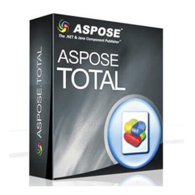 Aspose Total for .NET (程式開發) (下載版)