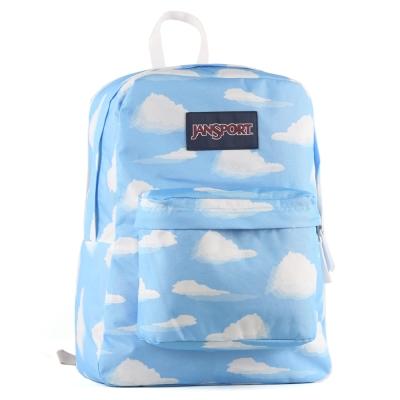 JanSport校園背包(SUPER BREAK)-小雲朵朵