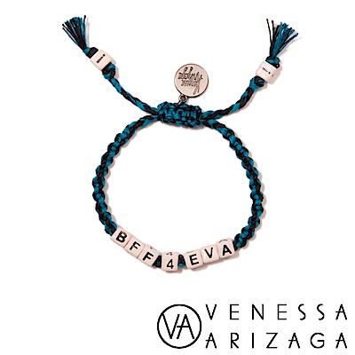 Venessa Arizaga BFF 4 EVA 藍X黑手鍊