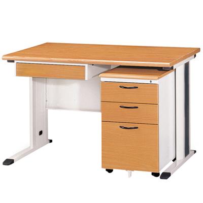 時尚屋OA辦公桌櫃組(120x70)
