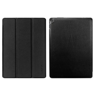 Metal-Slim ASUS ZenPad 10 Z301ML高仿小牛皮三折立架皮套