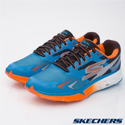 SKECHERS (男) 跑步系列 GO Run Forza-54105BLOR