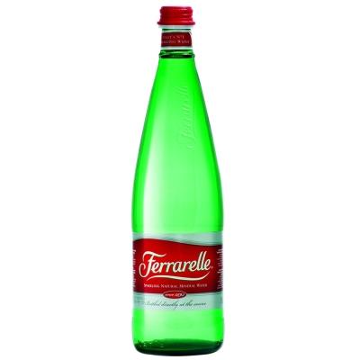 義大利法拉蕊Ferrarelle天然氣泡礦泉水(750mlx12瓶/箱)