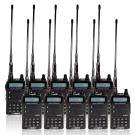 HORA F-30VU VHF UHF 雙頻無線電對講機 (10入組)