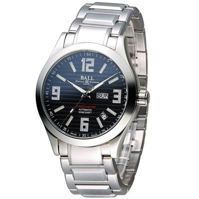 BALL波爾 Engineer II 機械腕錶-黑/40mm