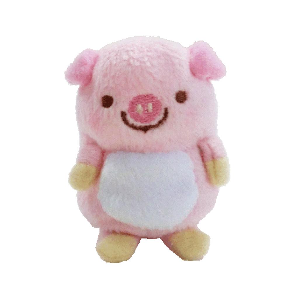UNIQUE 動物樂園沙包小公仔。粉紅豬