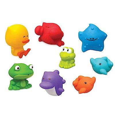【麗嬰房】美國 Infantino 歡樂海底樂園洗澡玩具組
