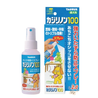 日本金牛座 犬用防咬噴霧百分百100ml 1入